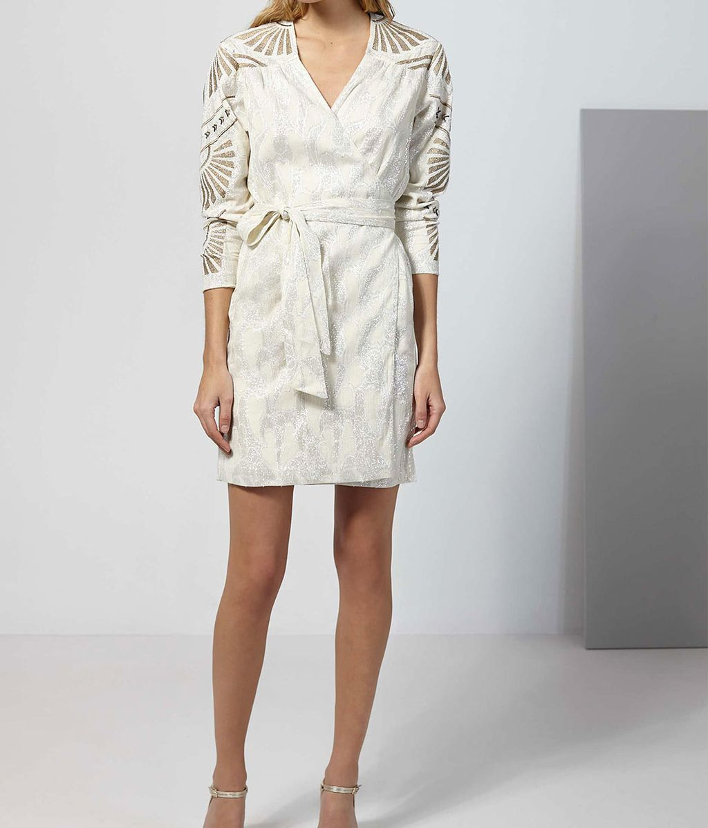 Vestido de jacquard de Intropia