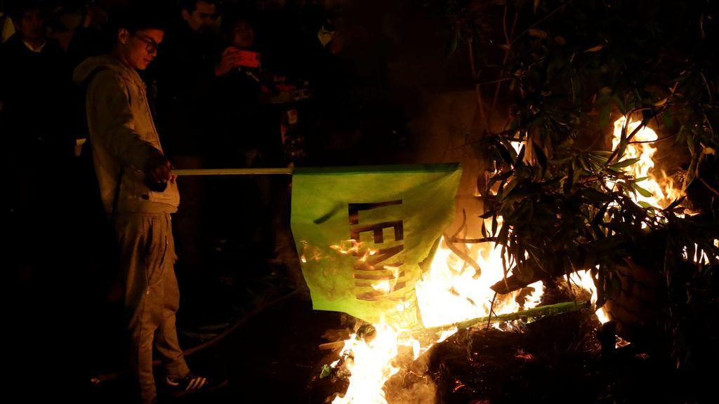 En desacuerdo con el resultado electoral en Ecuador