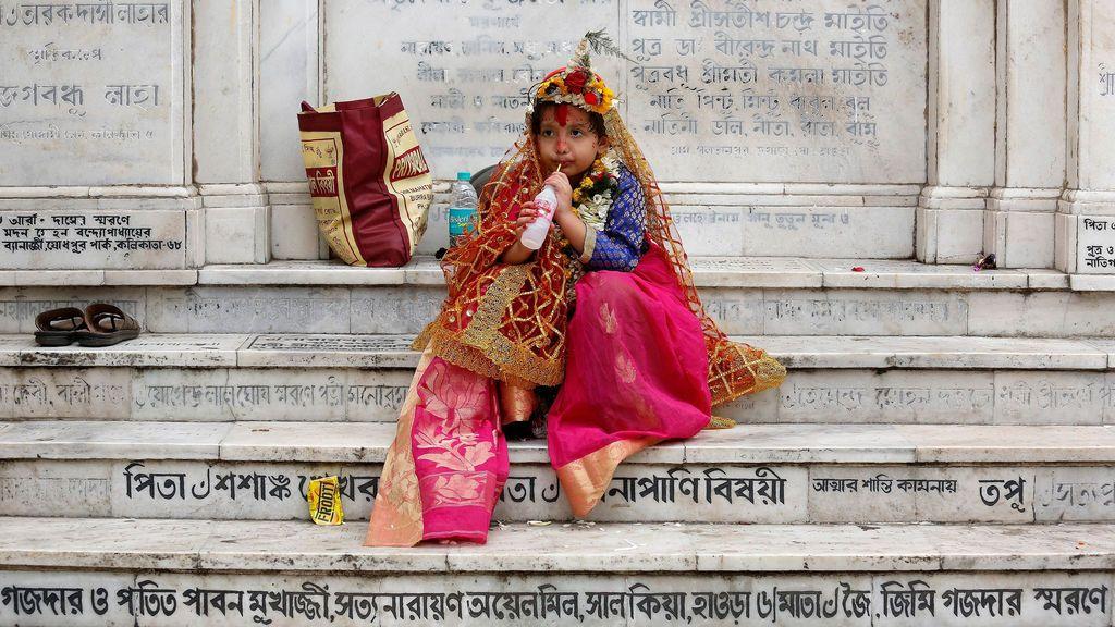 Festival de Navratri en la India