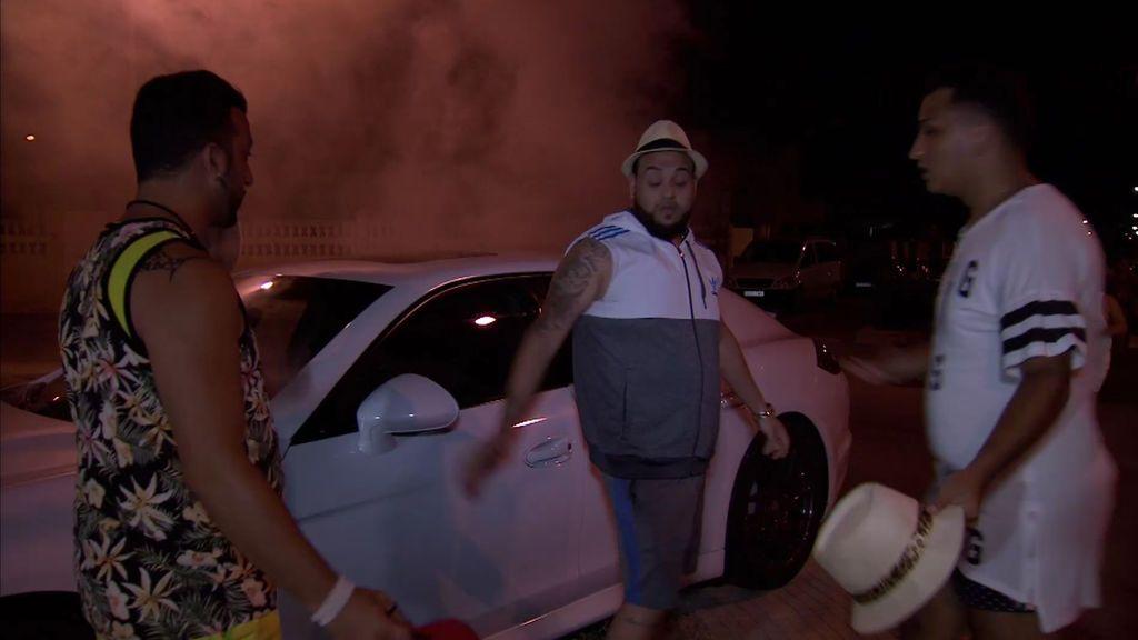 ¡Crisis! José y Fali destrozan el Porsche Panamera de Joaquín