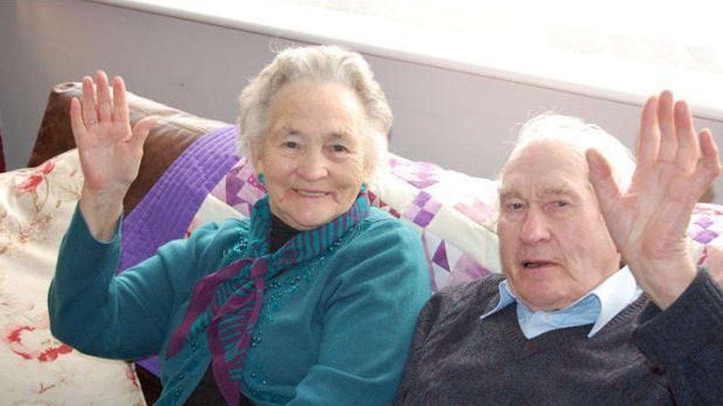 Mueren con cuatro minutos de diferencia después de pasar 71 años casados