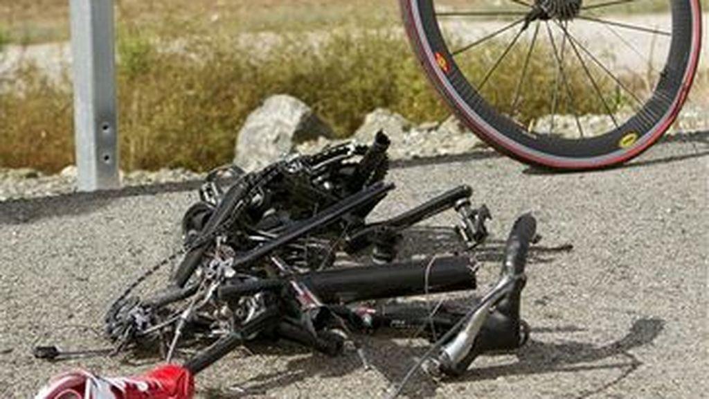 Localizan a un ciclista muerto en una carretera de Vilaflor