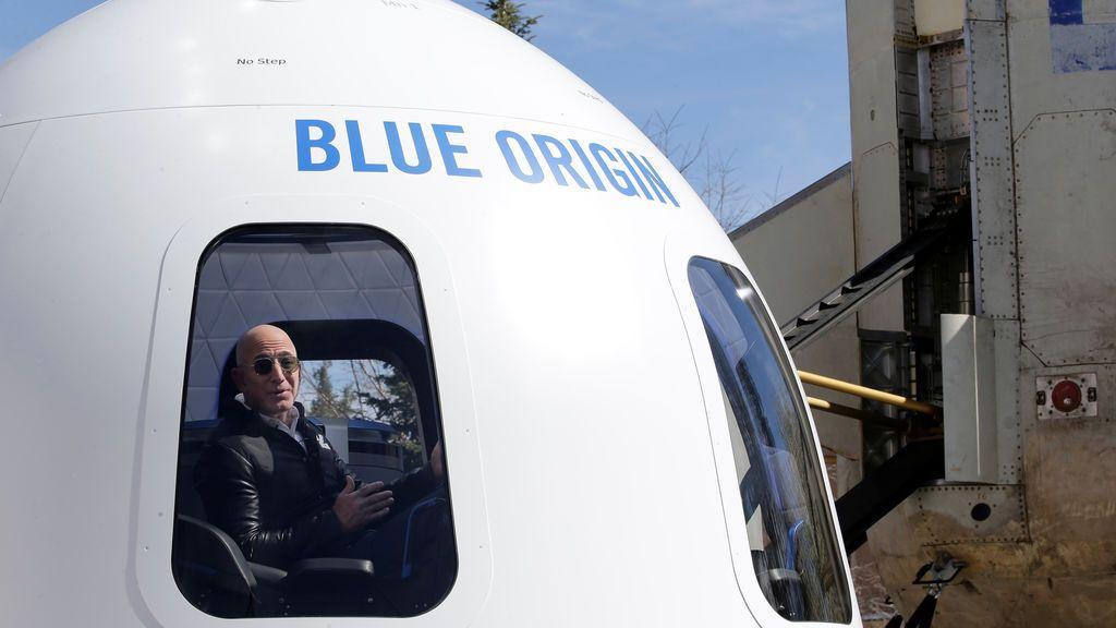 El fundador de Amazon, Jess Bezos, pone dinero para volar al espacio