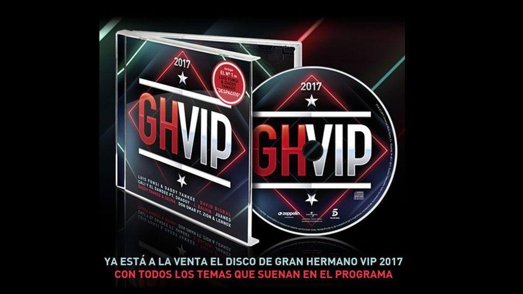 La música de GH VIP continúa en el nº1 de las listas de ventas