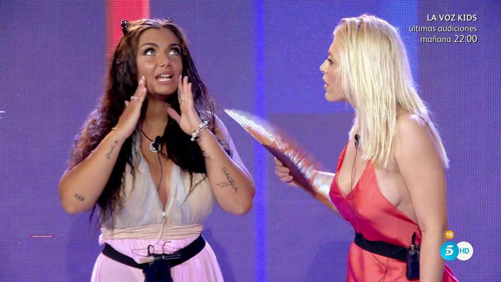 Elettra y Daniela se enzarzan en una discusión en plena semifinal de 'Gran Hermano VIP'