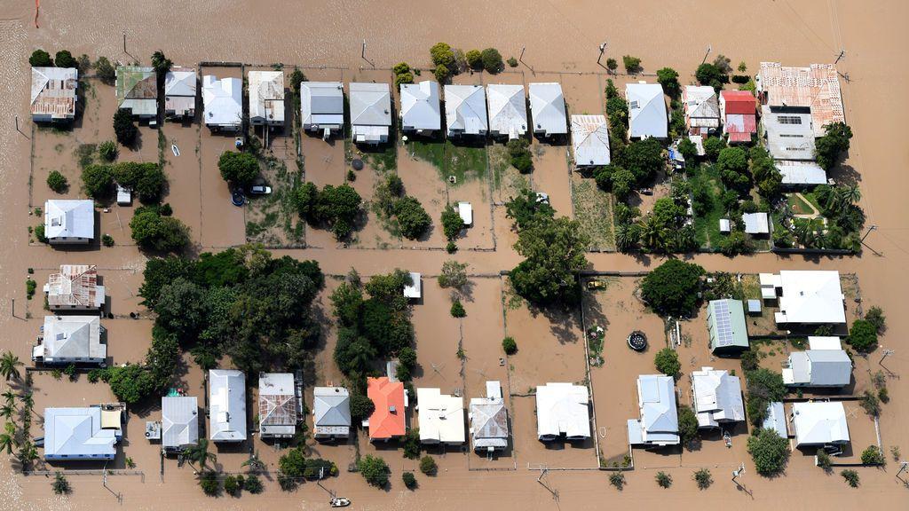 Localidades de Australia, bajo el aguas tras el paso del huracán Debbie