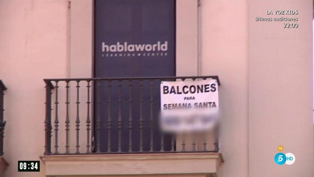 Sevilla le declara la guerra al alquiler ilegal de for Alquiler de apartamentos en sevilla para semana santa
