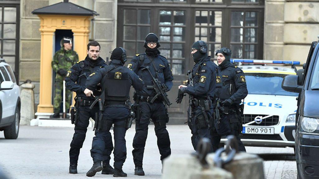 Detenido un hombre por el ataque con camión en Estocolmo