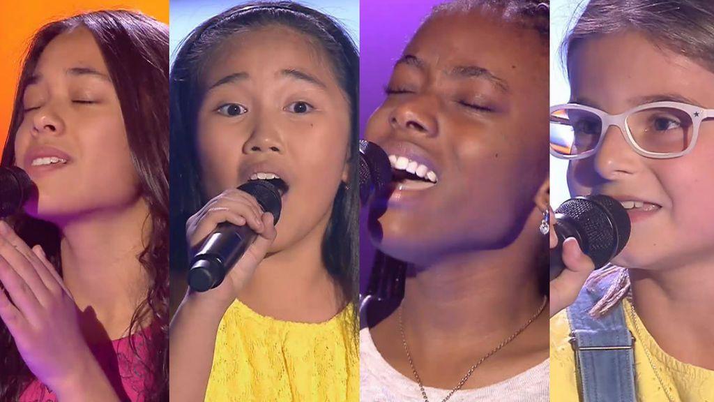 ¡Equipos cerrados! Las increíbles voces de Sara, Aroa, Paula, Francine y Suzete arrasan en las últimas audiciones
