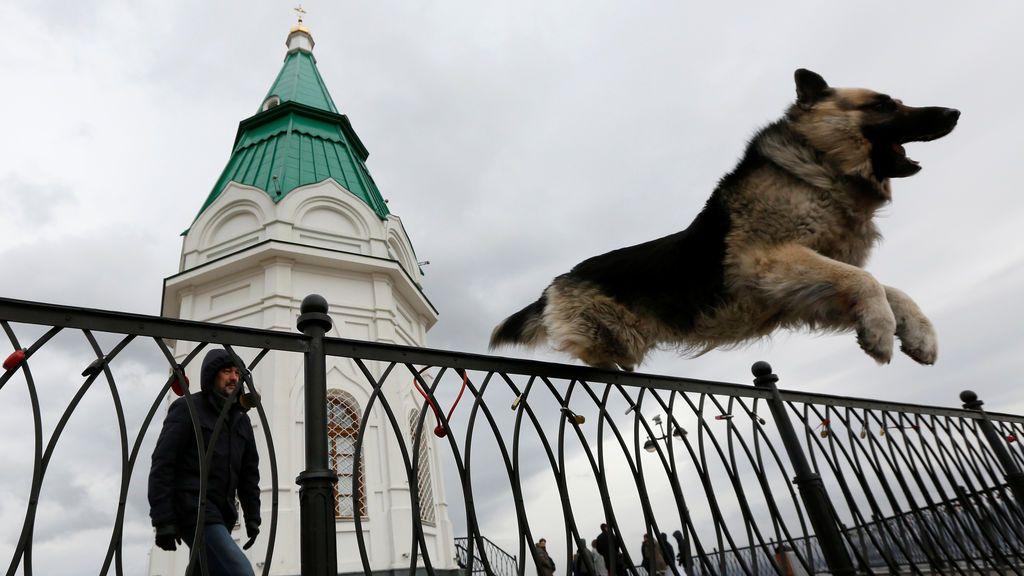 Vistas de una capilla de Siberia