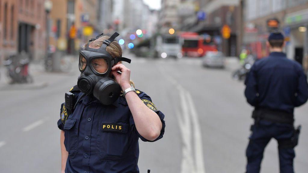 Imágenes del atropello mortal en Estocolmo