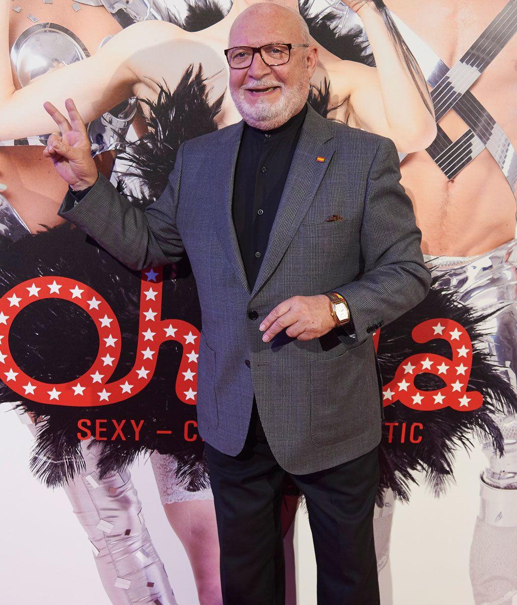 El estreno del espectáculo 'Ohlala' reúne a un gran número de famosos