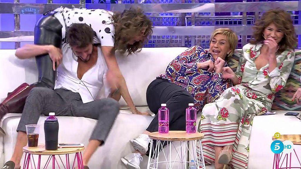 Paz Padilla se vuelve loca con Marco Ferri