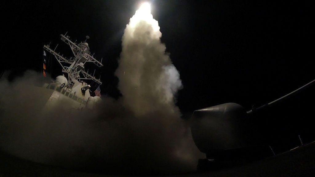 Trump lanza 60 misiles de crucero