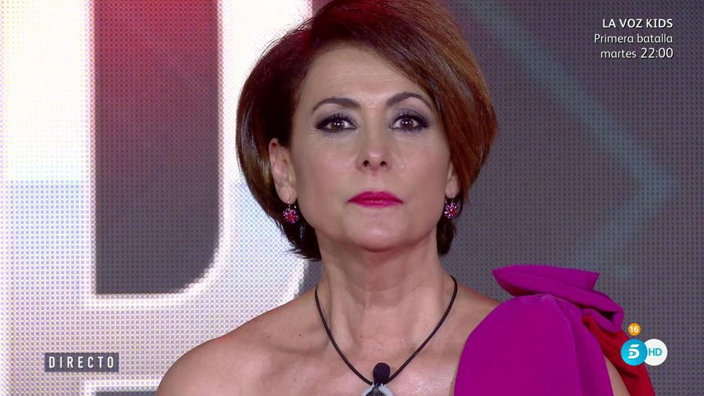 Irma Soriano, la petrificada tercera finalista de 'Gran Hermano VIP 5'