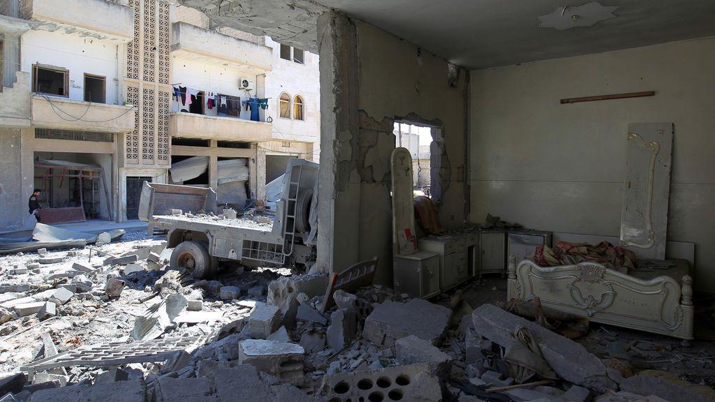 Mueren 18 personas en un ataque aéreo en Idlib