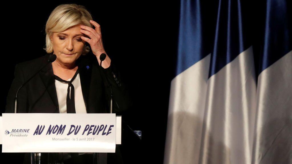 Marine Le Pen, repite los errores de su padre al hablar del Holocausto