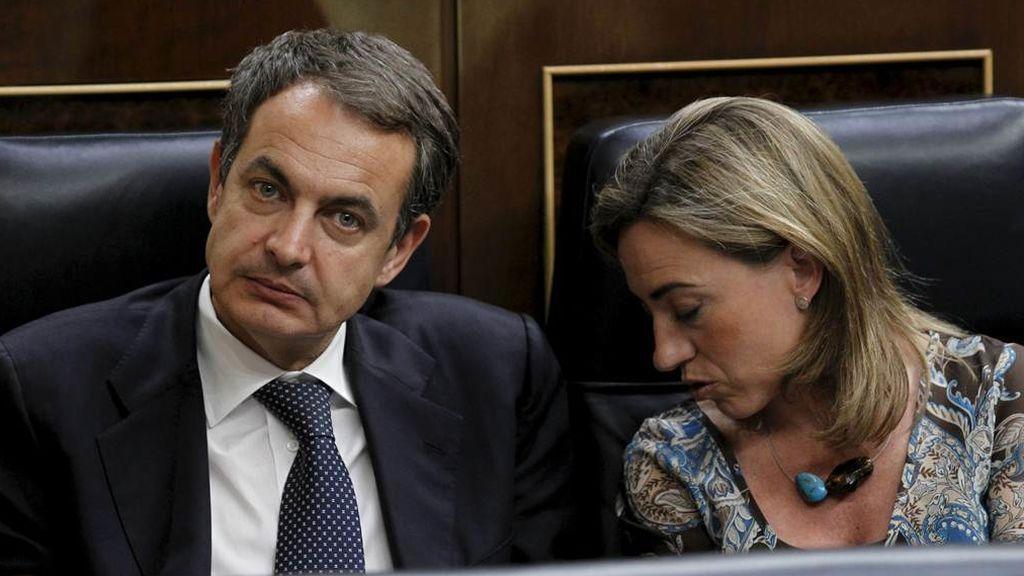"""Zapatero, """"desolado"""" por la muerte de Chacón, """"un ejemplo de lealtad y cariño"""""""