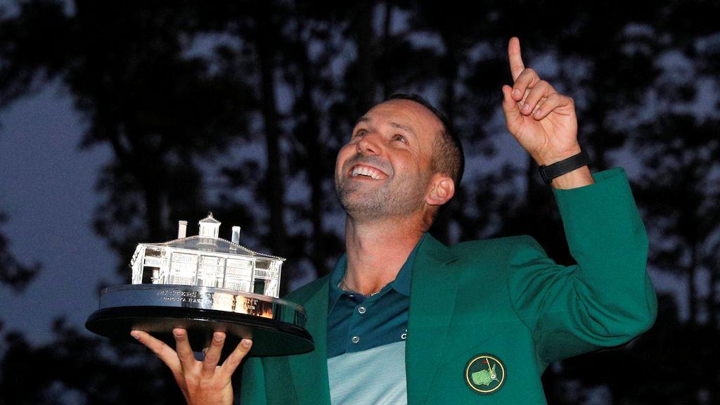 Sergio García cumple con su destino y gana el Master Augusta