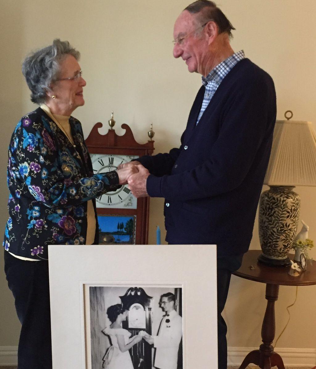 Se enamoraron en el instituto y 64 años después se reencuentran para casarse