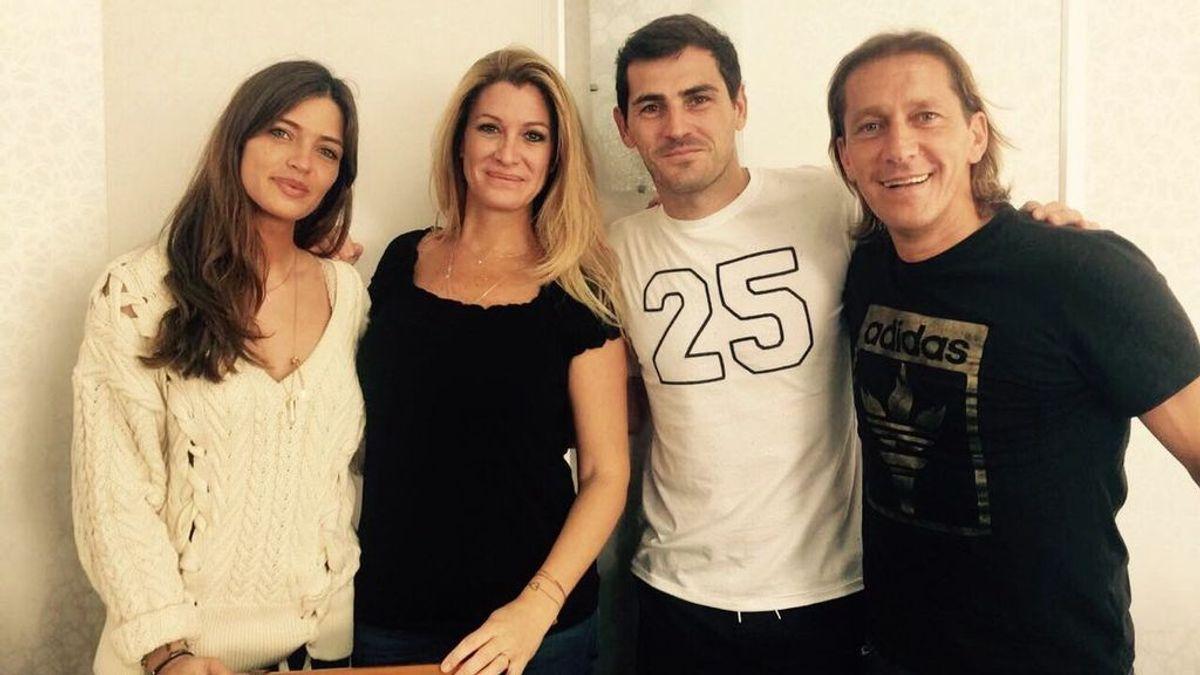 Michel Salgado 'trollea' a Casillas en su reencuentro: se pegan una mariscada en Galicia y… ¿quién pagó?