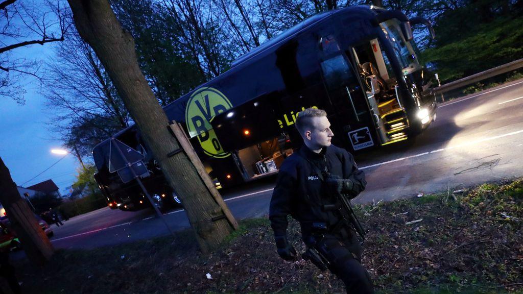 El Barça envía su apoyo a Marc Bartra y al Dortmund tras varias explosiones contra el autobús alemán
