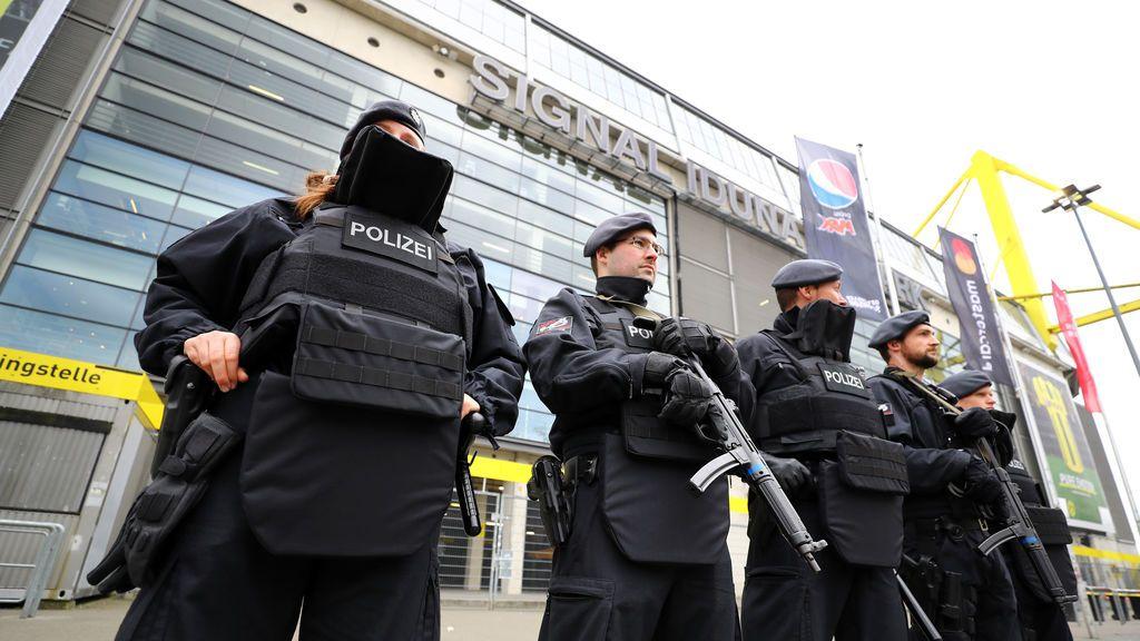 """Detenida una persona por el """"ataque terrorista"""" contra el Borussia Dortmund"""