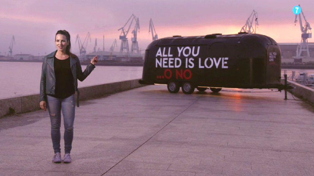 La caravana de 'All you need is love…o no' ya está rodando por España con Irene Junquera