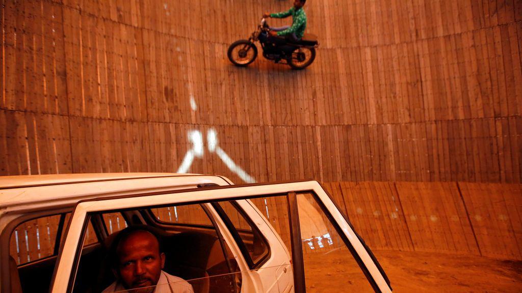 Las mejores acrobacias en 'El pozo de la muerte'