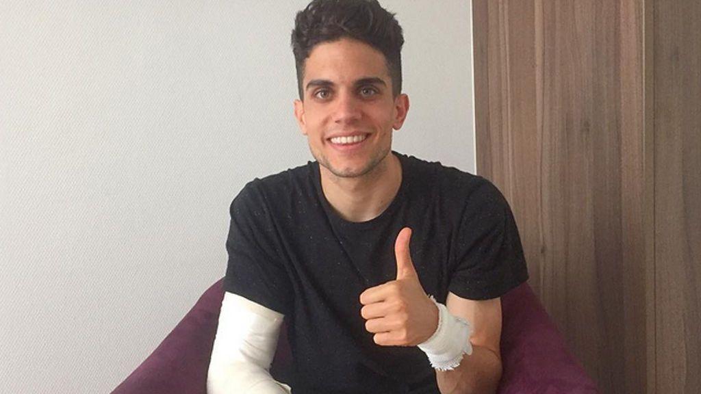 """Marc Bartra reaparece en Instagram con una sonrisa y el pulgar arriba: """"¡Toda mi fuerza a mis compañeros!"""""""