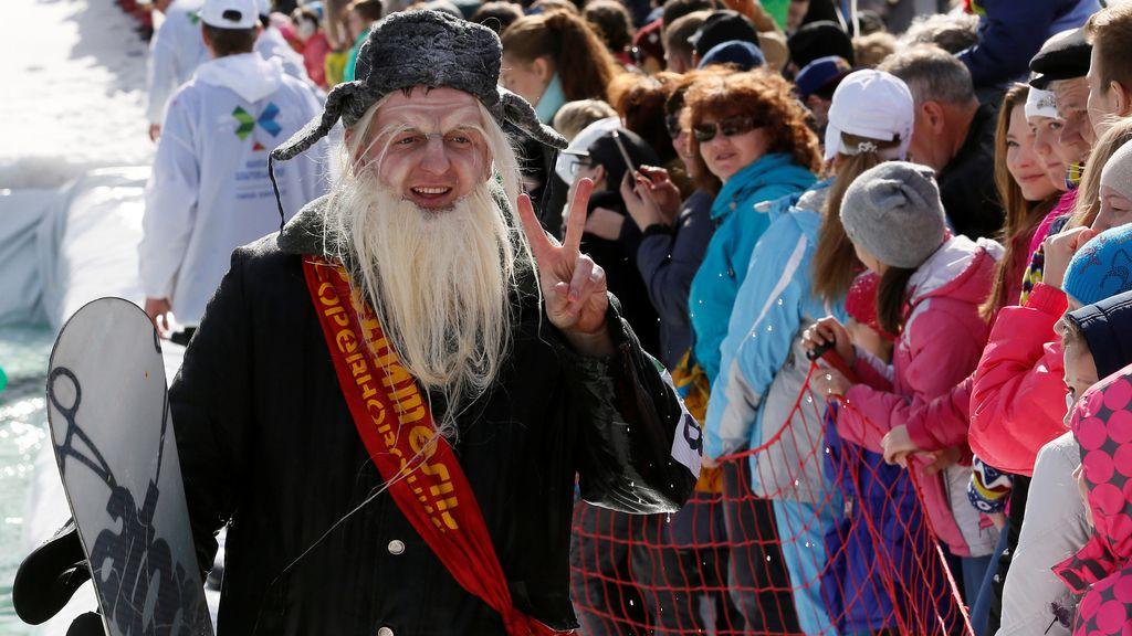'Gornoluzhnik', la curiosa forma de Rusia de decir adiós a la temporada de esquí
