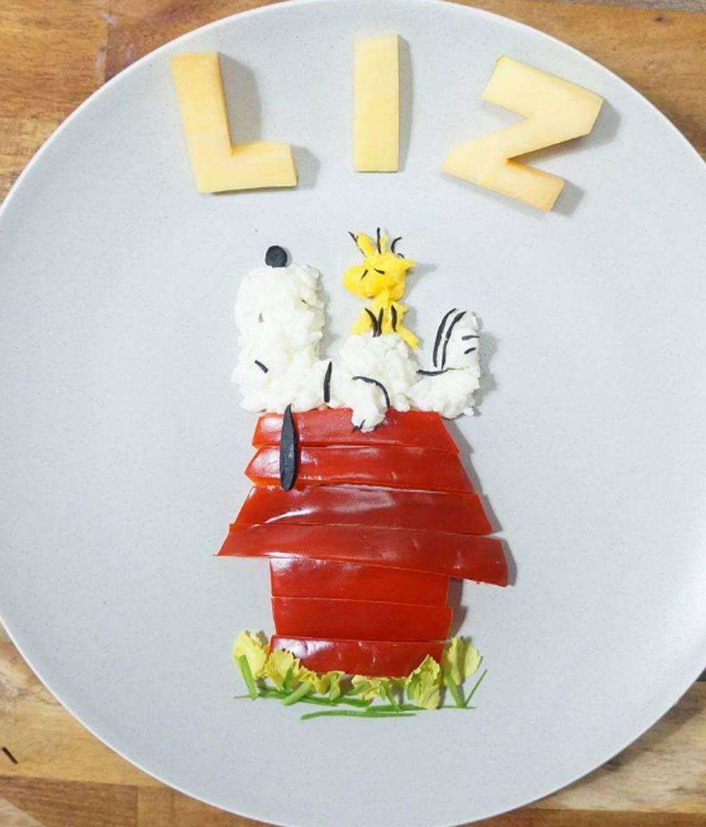 Quiso cocinar atractivos platos para su hijo y se li se li - Platos para cocinar ...