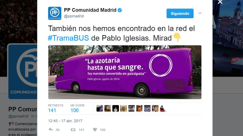 De la repulsión del PSOE a los memes del PP, las reacciones al 'tramabús' de Podemos