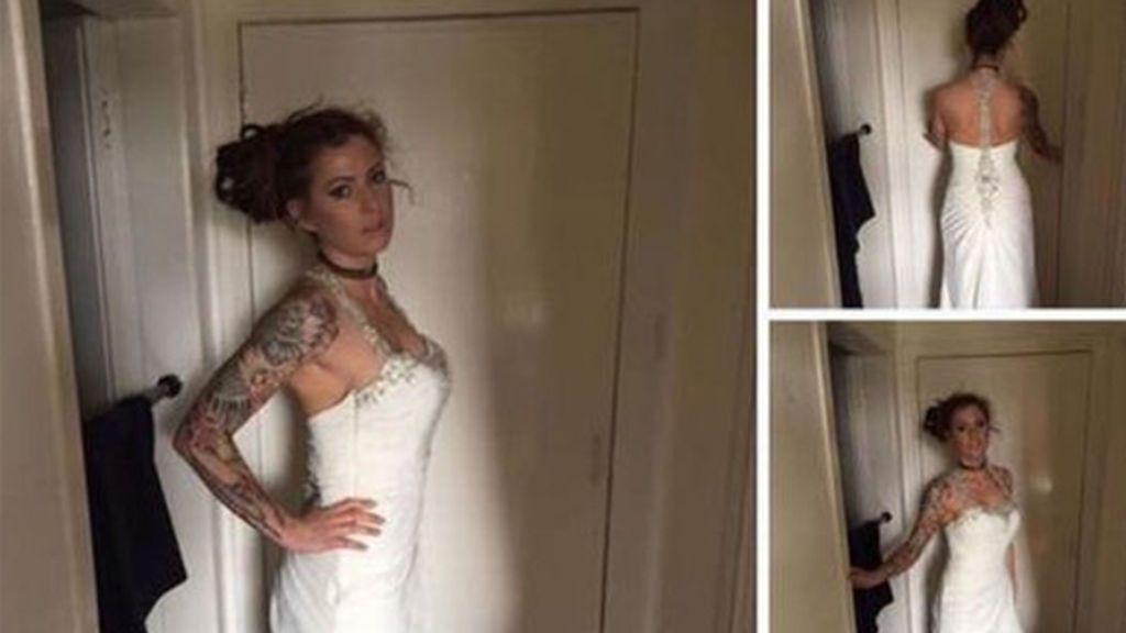 Vende su vestido de boda a precio de ganga porque su prometido le fue infiel