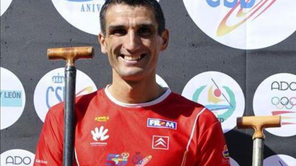 El campeón mundial Óscar Graña salva a una mujer de morir ahogada