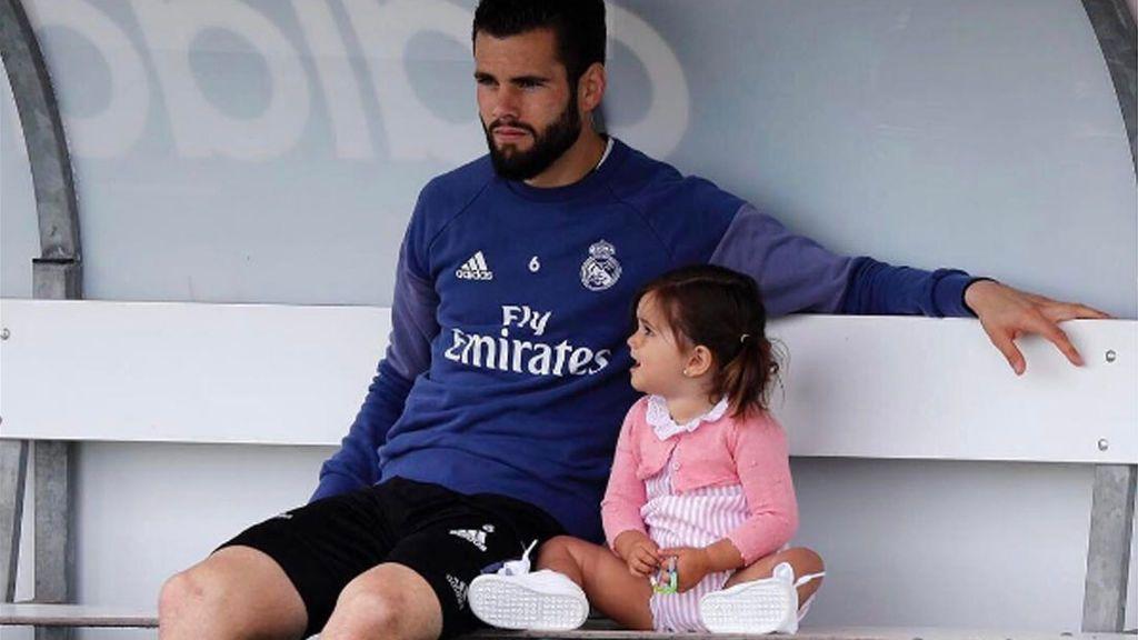 El reencuentro más tierno de Nacho y su hija tras cuatro días sin verse