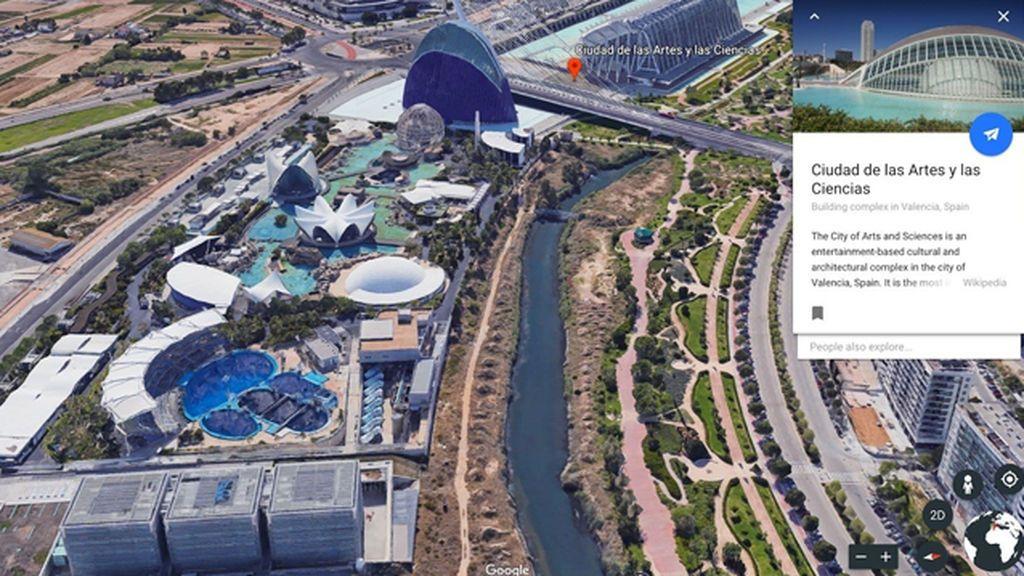 Google Earth se renueva y añade funciones para descubrir el mundo