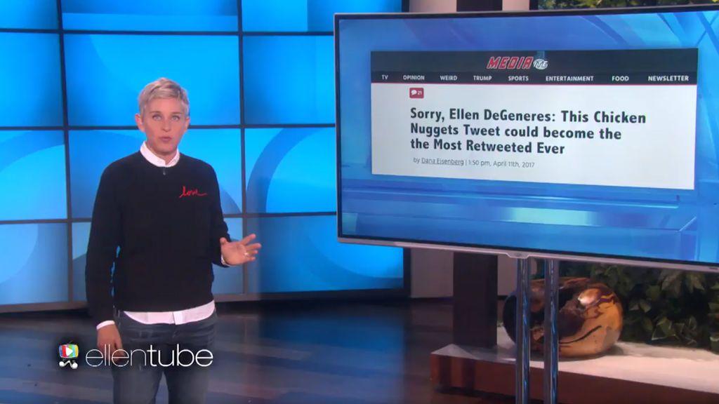 Ellen DeGeneres contra el 'Chico de los Nuggets': la batalla por reinar en Twitter