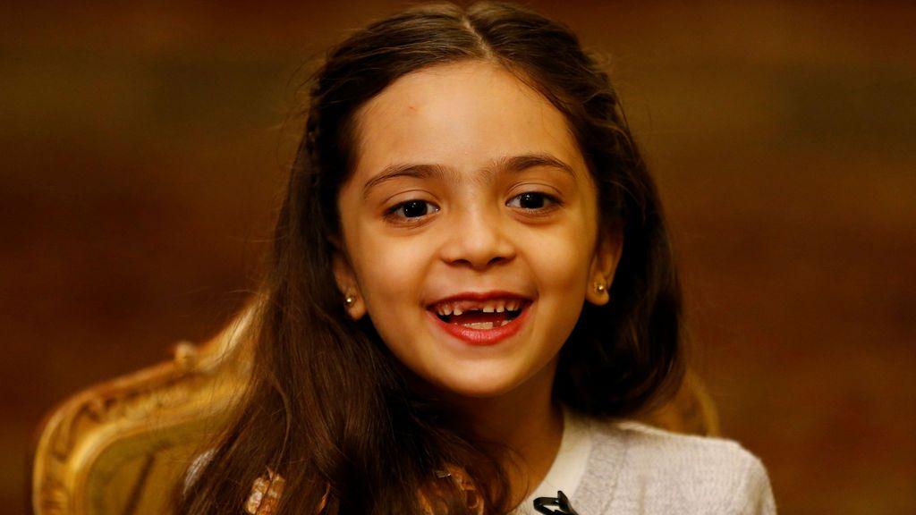 Bana Alabed, la niña siria que ha escrito un libro sobre su vida durante la guerra