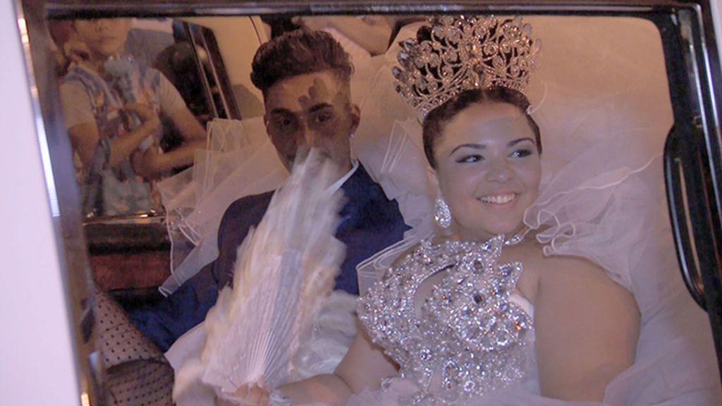 Naiara supera la prueba del pañuelo y celebra una boda por todo lo alto