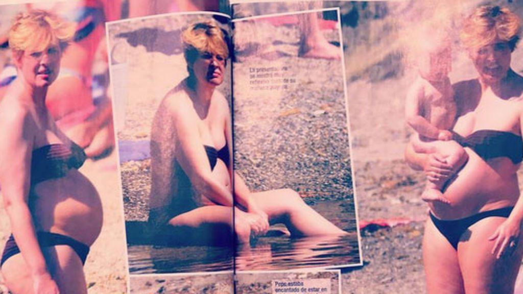 Tania Llasera robado playa