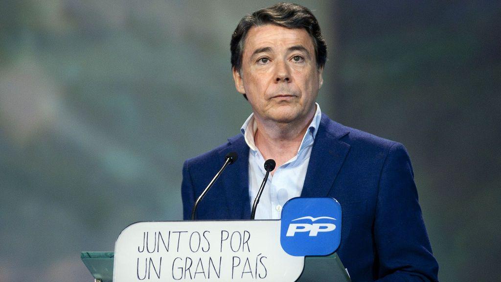 El PP suspende provisionalmente la afiliación de Ignacio González