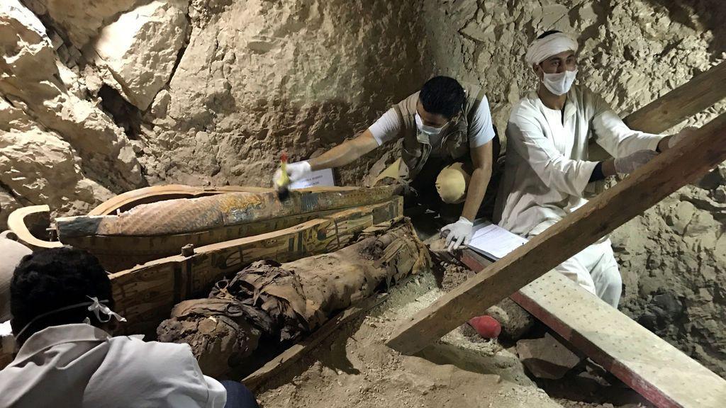Hallada en Luxor una importante tumba de un noble de la Dinastía XVIII