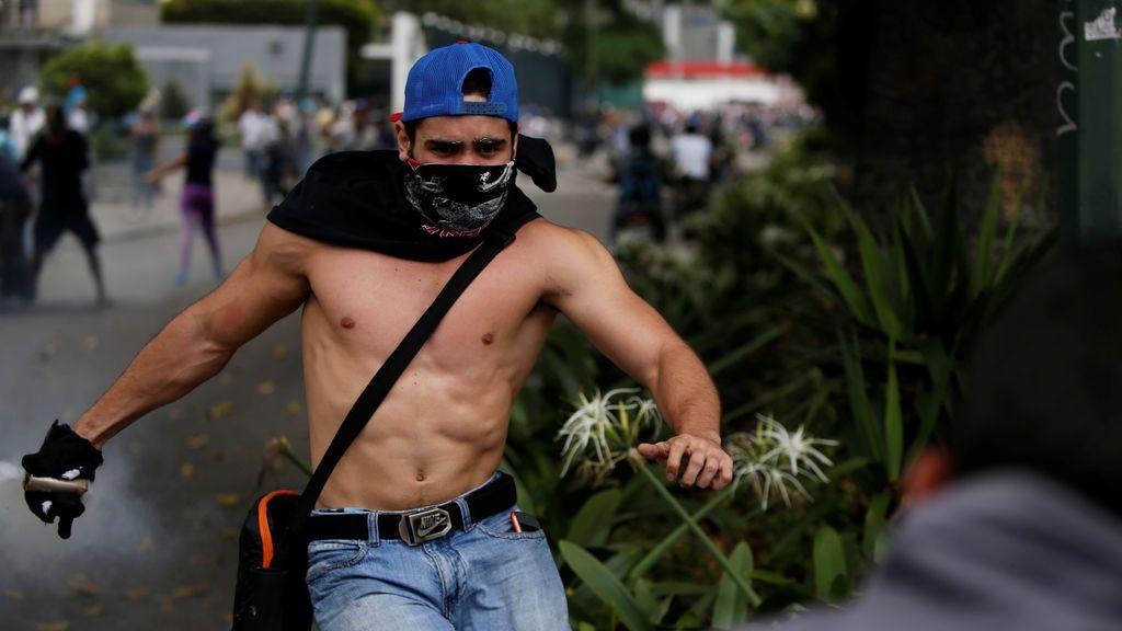 Manifestación contra Nicolás Maduro en Venezuela