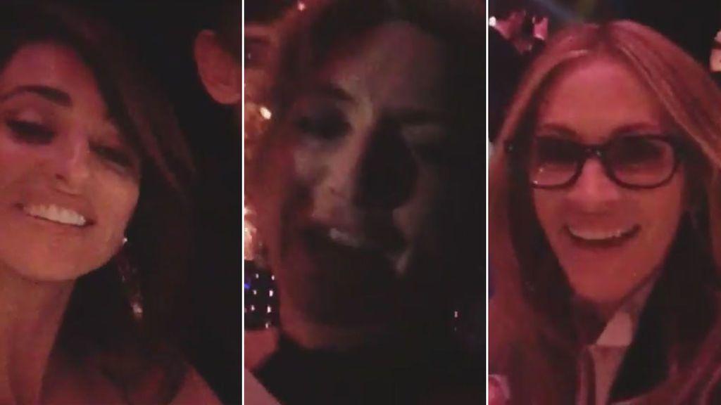Penélope Cruz Julia Roberts  Kate Winslet