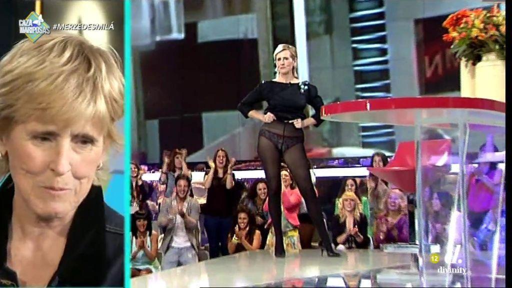 'Qué tiempo tan failiz': Los mejores 'zascas' y momentos televisivos de Mercedes Milá