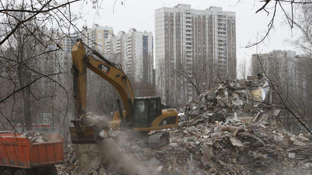 Demoliendo edificios en bloque