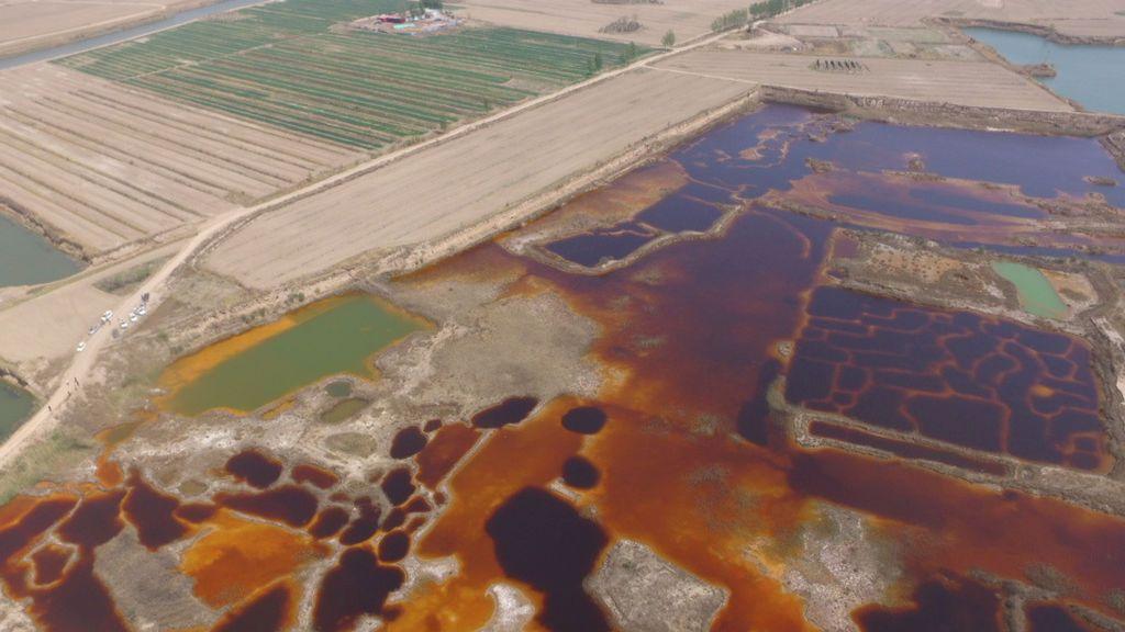 Contaminación por las aguas residuales