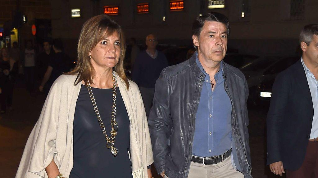 Ignacio González y su mujer Lourdes Cavero