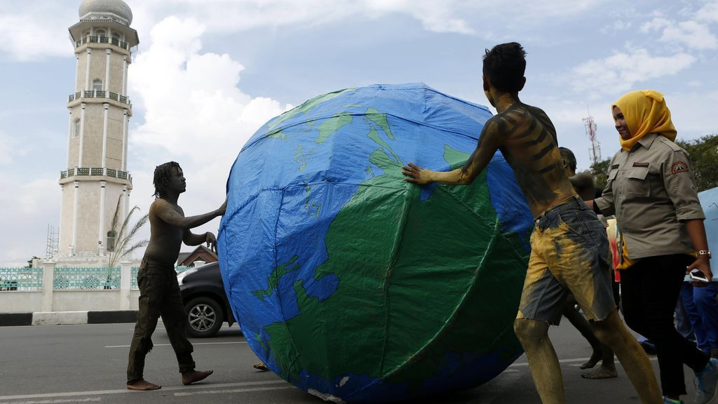 Día de la Tierra en Banda Aceh, Indonesia